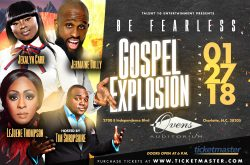 CANCELED: Be Fearless Gospel Explosion featuring Jekalyn Carr, Jermaine Dolly and LeJuene Thompson