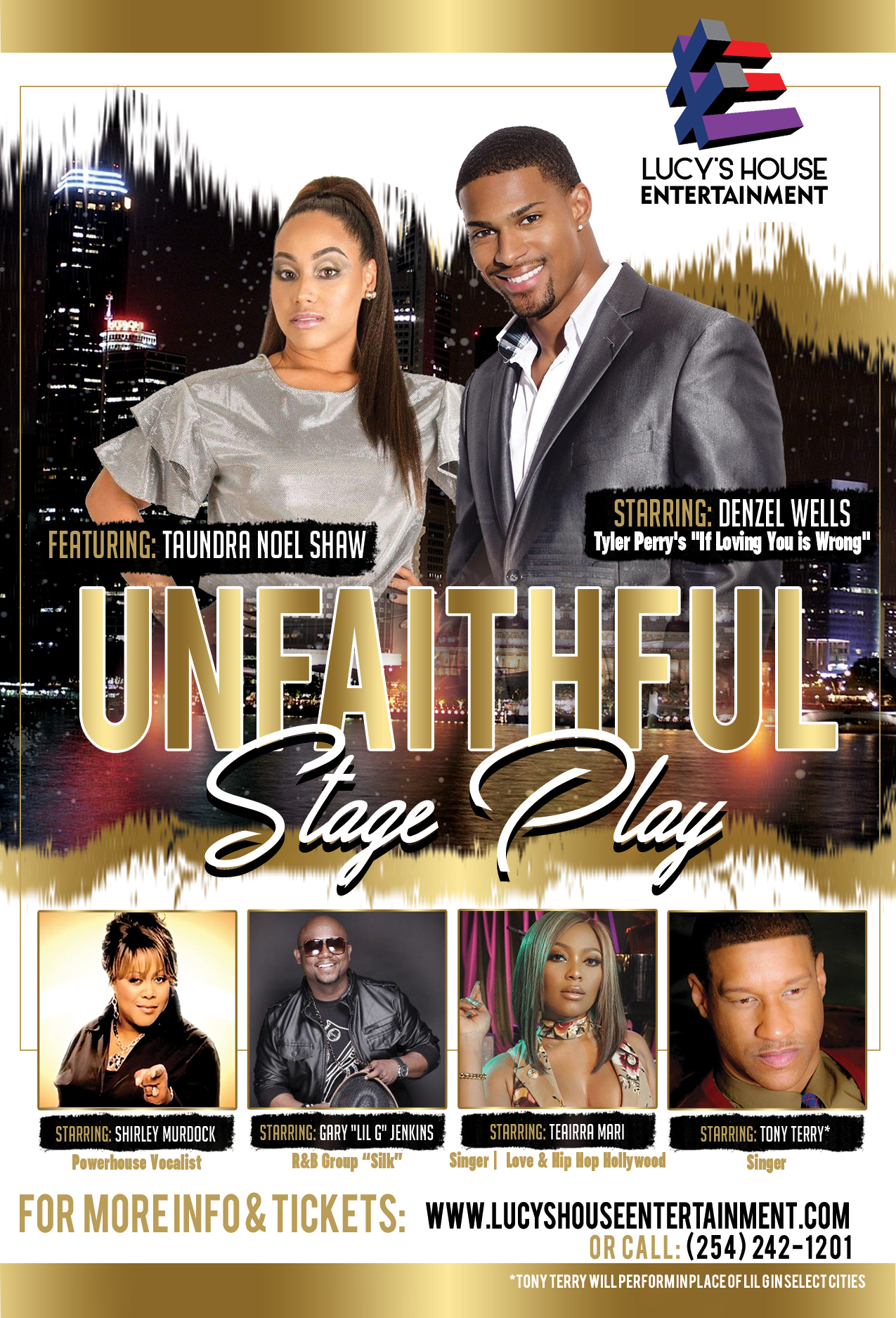 Unfaithful Stage Play