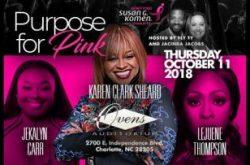 The Purpose for Pink: Karen Clark Sheard & Jekalyn Carr