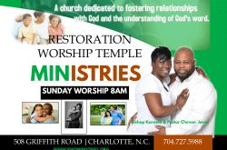 Restoration Worship Temple MInistries
