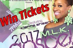 Win tickets to see Kierra 'KiKi' Sheard
