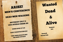 ARISE! Men's Conference: Dead Men Walking