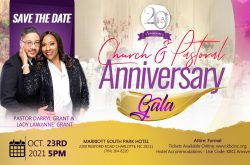 Kingdom Builders Church International 20th Church & Pastor Anniversary Gala